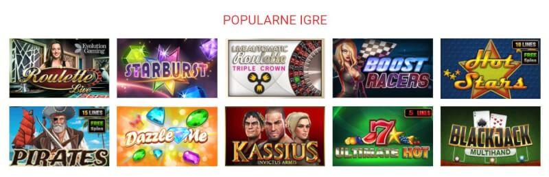 CasinoClub Igre