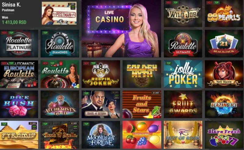 Maxbet kazino slot igrice