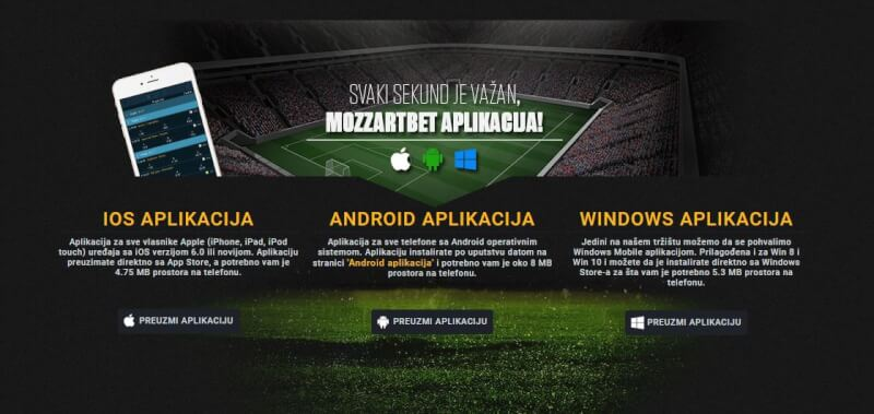 mozzart mobile