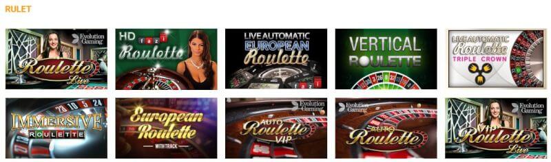 casinoclub rulet