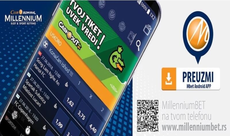 Millenniumbet Android App
